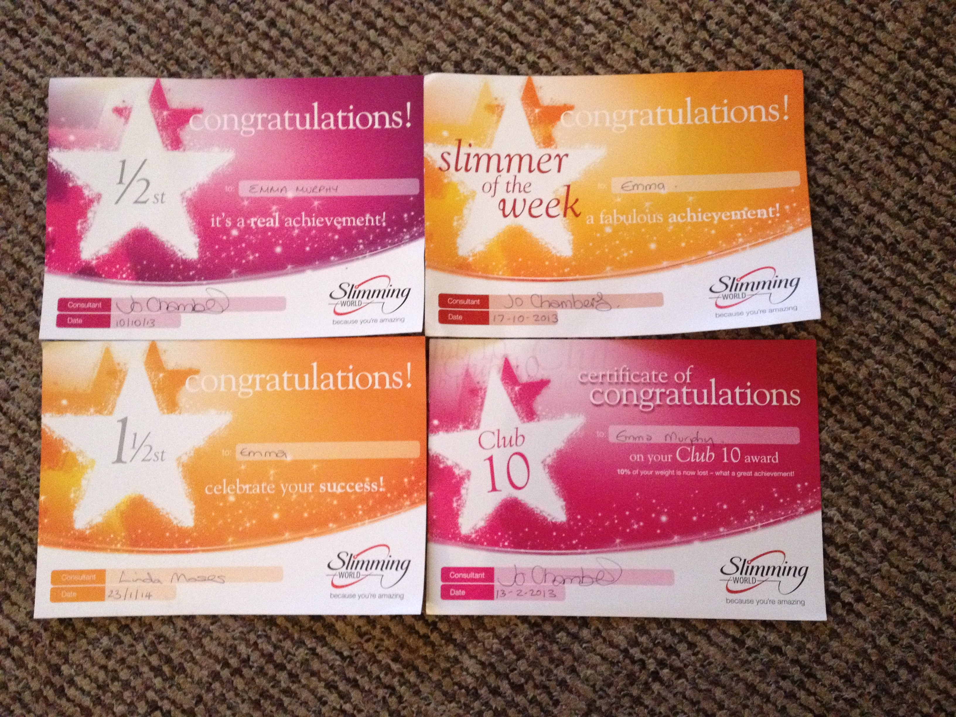 My slimming world journey so far not such a yummy mummy One you slimming world